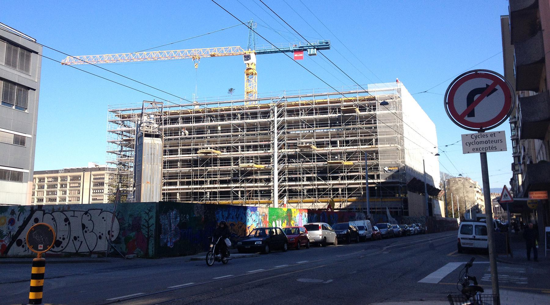 Concrete5 artamis ecoquartier jonction for Construction piscine geneve